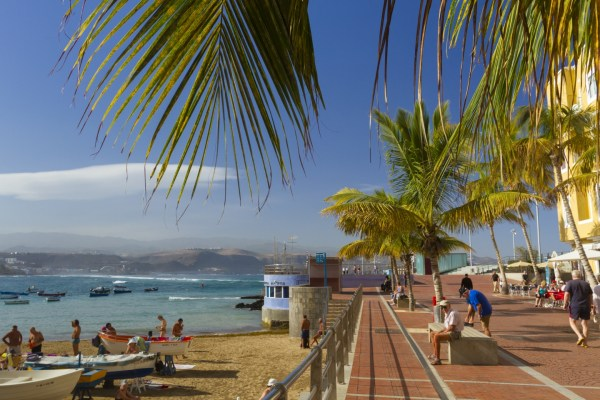 La Puntilla at the northern end of Las Canteras beach