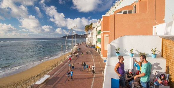 Beachfront property in Las Palmas is in high demand