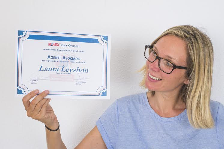 Laura Leyshon: One of the top sellers for the first quarter