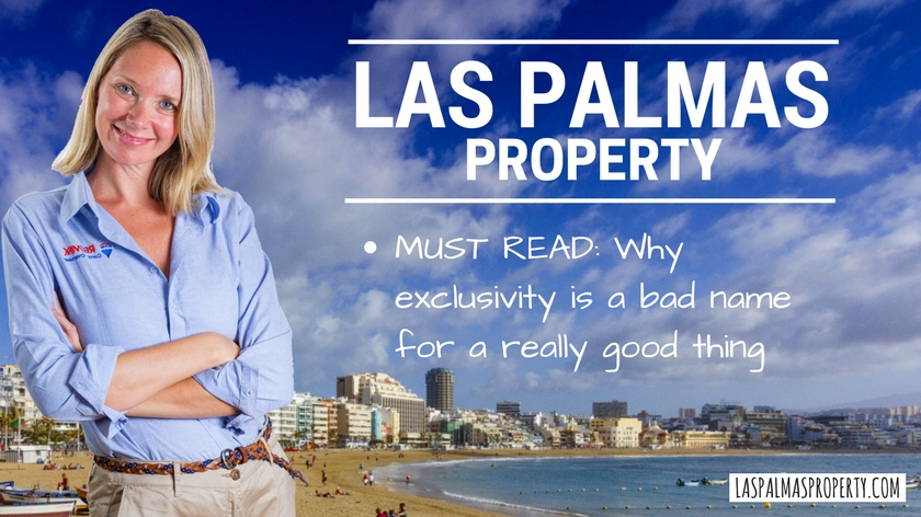 Las Palmas Property: Why an exclusive sales contract is a win-win for sellers
