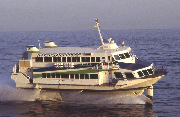 The new Armas ferry is the fastest link between Las Palmas and Santa Cruz since the jetfoil
