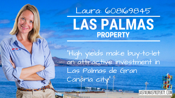 High yields make a Las Palmas buy-to-let investment an attractive option in Las Palmas de Gran Canaria
