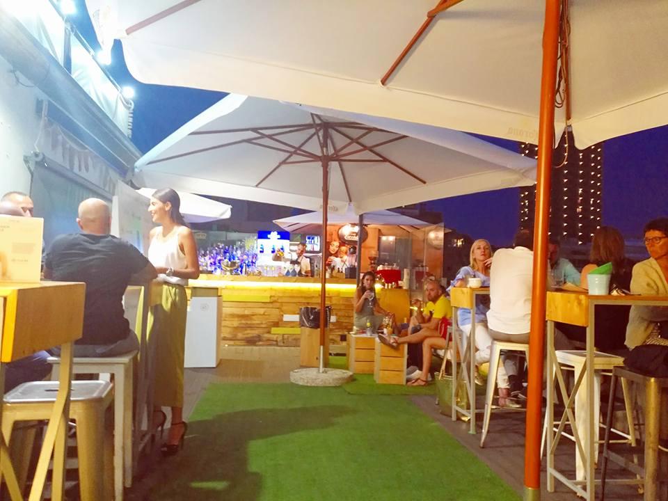 El Tendedero de Catalina rooftop bar in Las Palmas de Gran Canaria