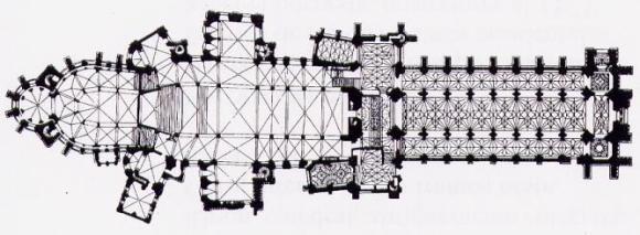 Planta Catedral de Canterbury