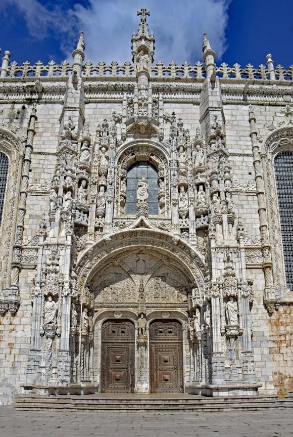 Monasterio los Jeronimos, estilo manuelino