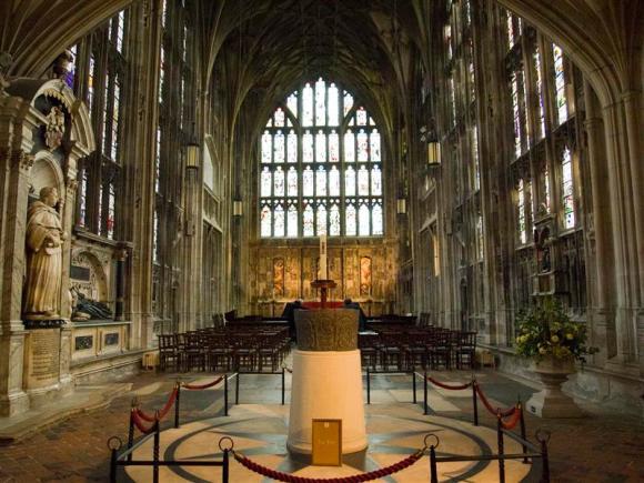 Capilla de la Virgen en Gloucester. Gótico inglés