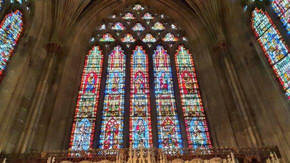 Ventana de Jesse en la catedral de Wells