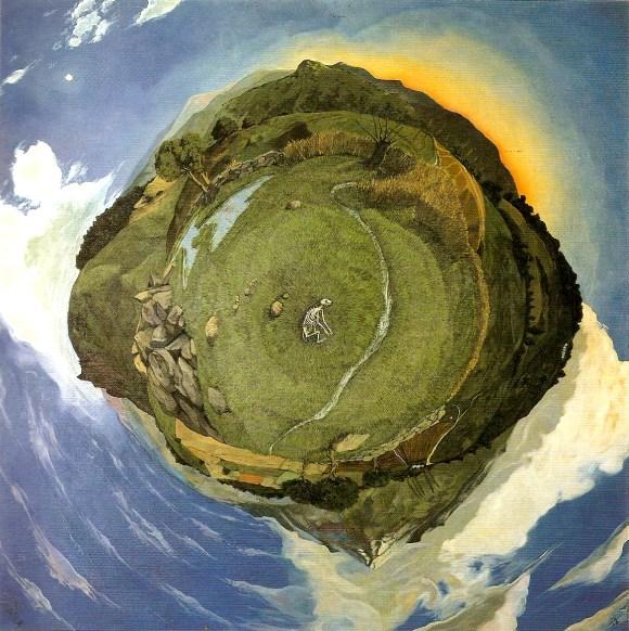 Tipos de cuadros: ejemplo pintura aerea