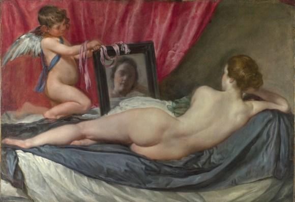 Pintura mitológica: Venus del espejo (1647-1651), de Diego Velázquez