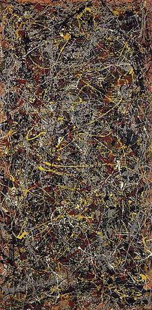 Número 5, 1948, Jackson Pollock.