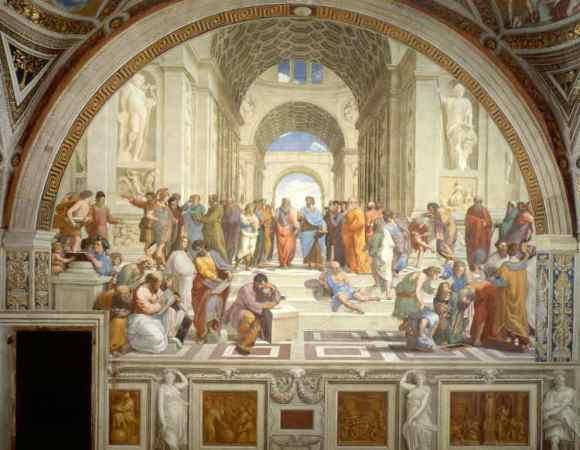 Análisis La escuela de Atenas de Rafael Sanzio