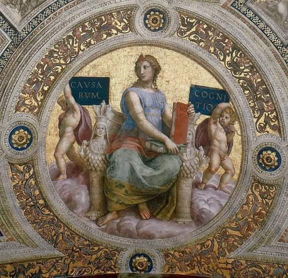 Cual es el significado de La escuela de Atenas