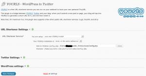YOURLS-WordPress to Twitter
