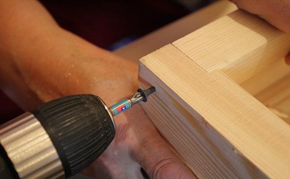 Как крепить коробку из мдф