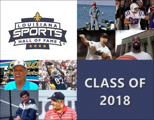 Louisiana Sports Hall of Fame 2018 induction class