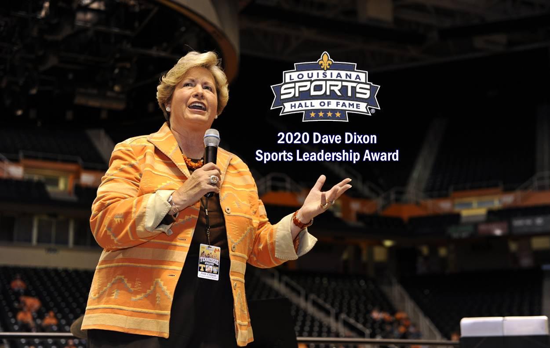Joan Cronan selected to receive 2020 Dave Dixon Louisiana Sports Leadership Award