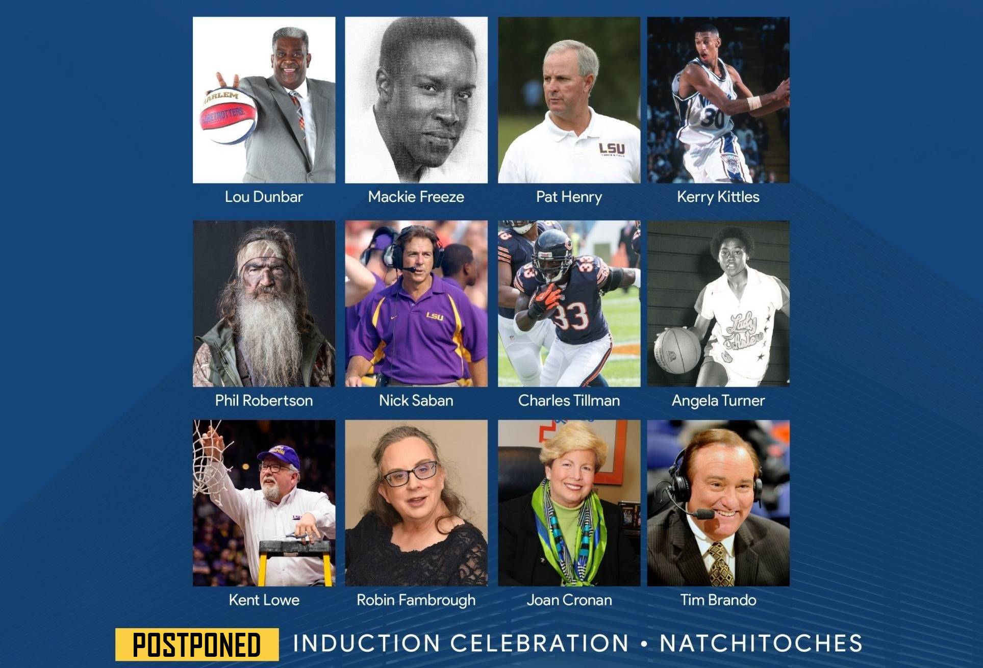 Louisiana Sports Hall of Fame 2020 Induction Celebration postponed