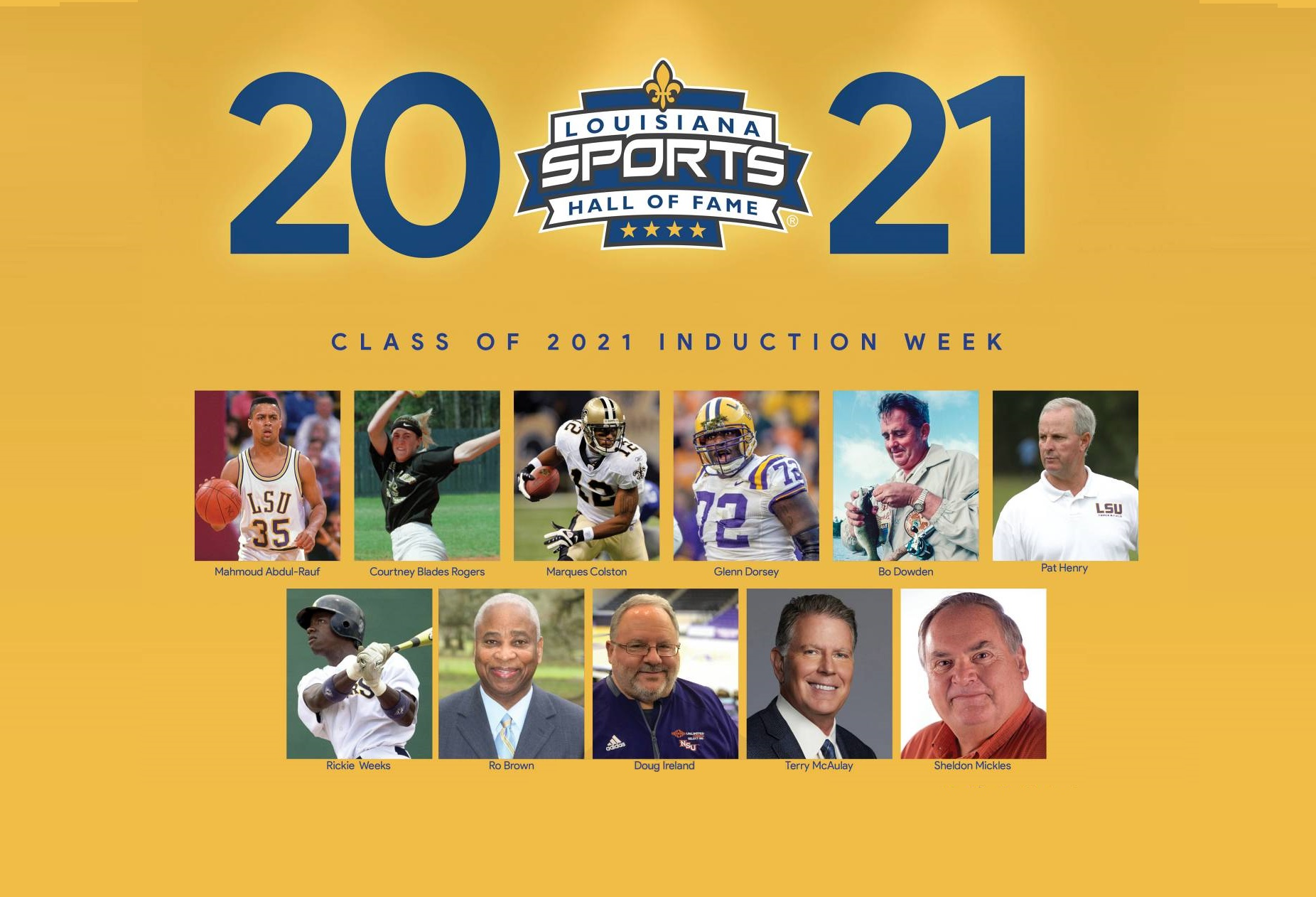 Early Bird Special offered as 2021 Hall of Fame Induction Celebration approaches Aug. 26-28