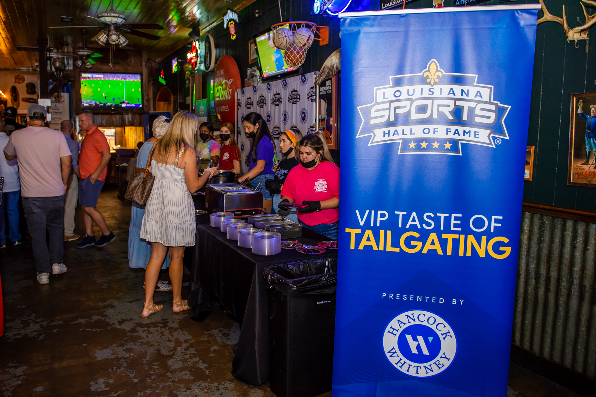 Video: 2021 VIP Taste of Tailgating presented by Hancock Whitney, Rockin' River Fest presented by Rapides Regional