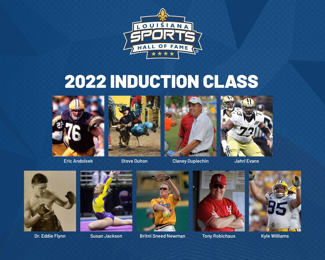 Louisiana Sports Hall of Fame announces 2022 induction class