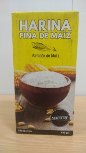 Harina fina de maíz NURTURE