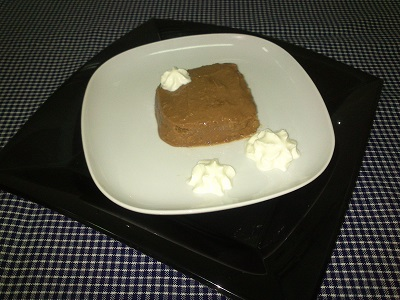 Castañas con chocolate