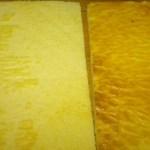 Planchas de bizcocho enrollado de almenddra