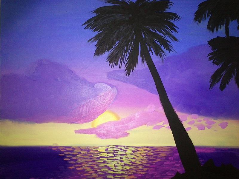 Pintura Amanecer