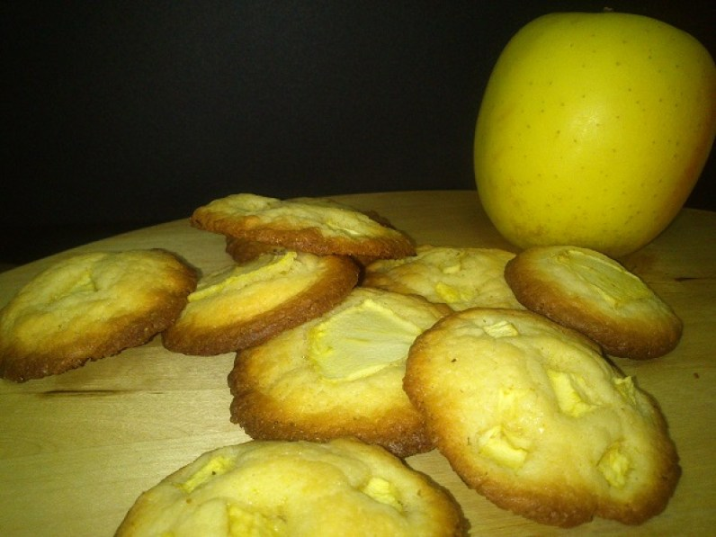 Galletas con manzana
