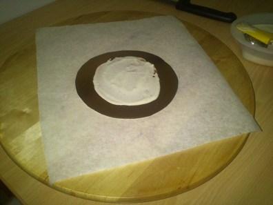 Base carton con crema
