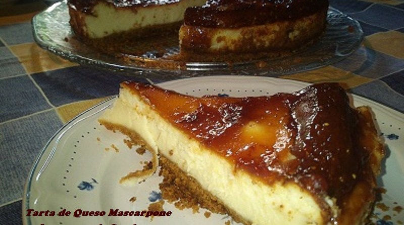 Tarta de queso Mascarpone