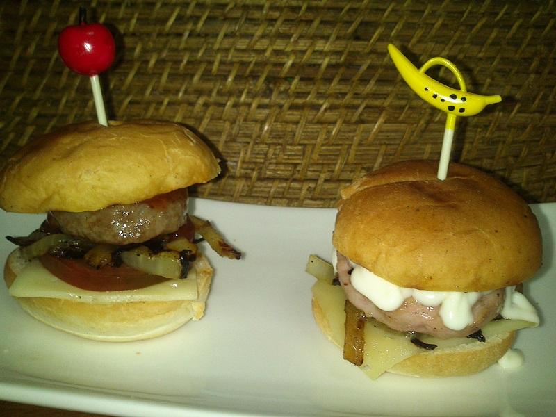 Mini Hamburguesas