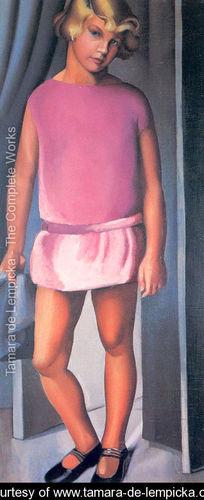 Pintura niña de Tamara de Lempicka
