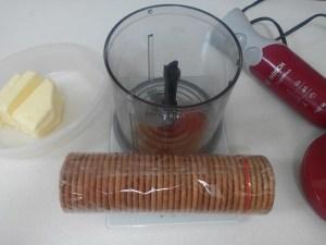 Base de galletas tartas