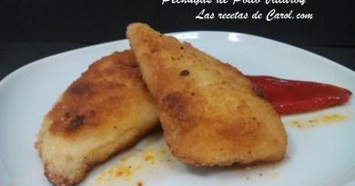 Pechugas de pollo Villaroy