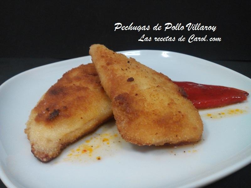 Pechugs de pollo Villaroy