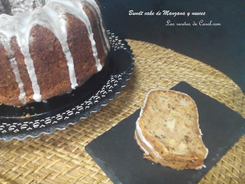 Bundt Cake de manzana y nueces