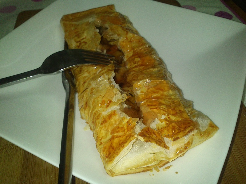 Repollo en Pasta filo
