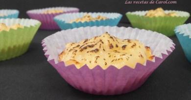 Tartaletas rellenas de crema
