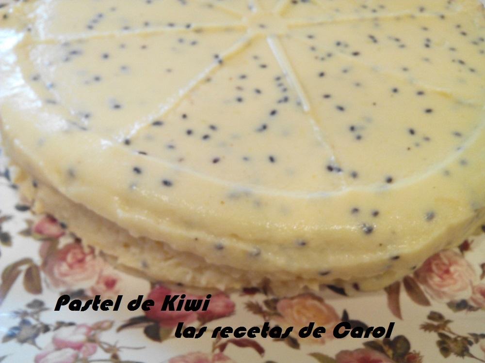 Pastel de kiwi