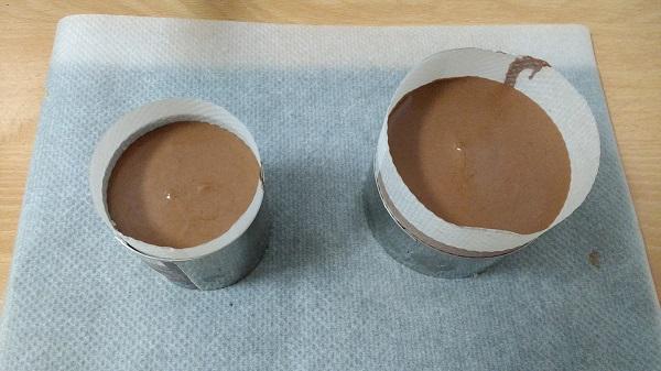 Mousse de chocolate, crema de naranja y glaseado (9)