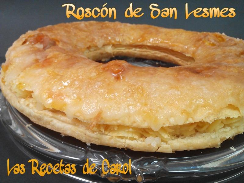 Roscón San Lesmes