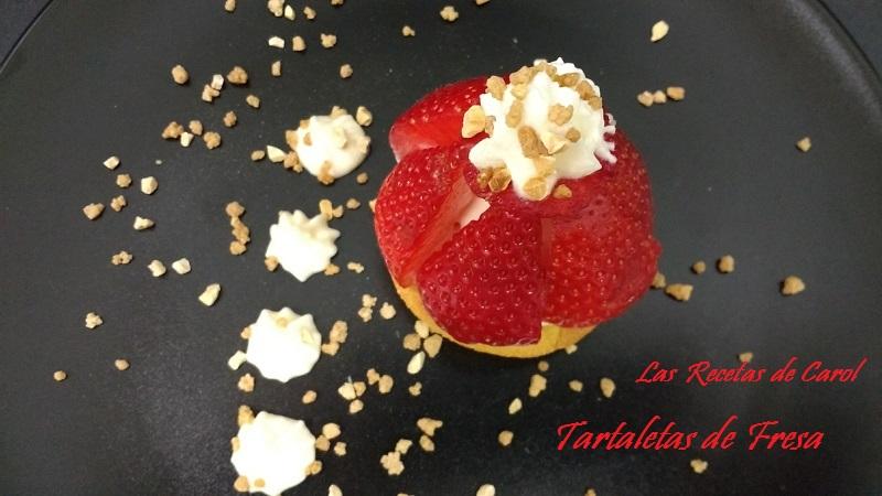 Juego de Blogueros2.0: Tartaletas de Fresa