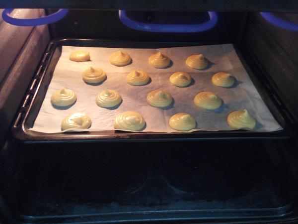 Buñuelos con pasta Choux