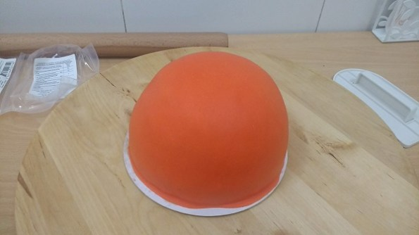 Tarta pelota de baloncesto (36)