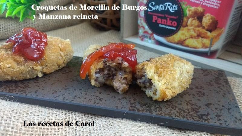 Croquetas de morcilla de Burgos
