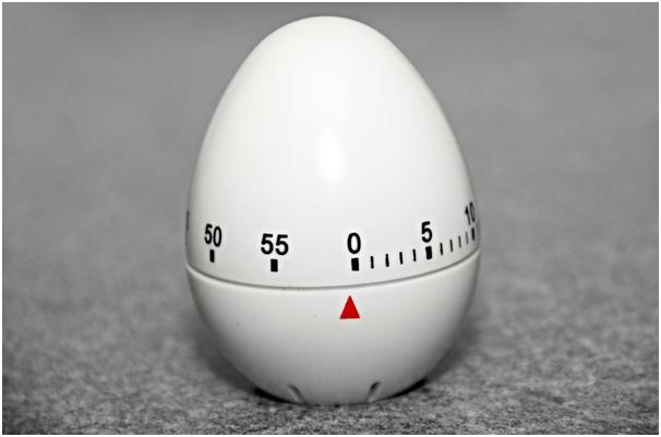 Reloj de cocina para controlar los tiempos de cocción de los guisos