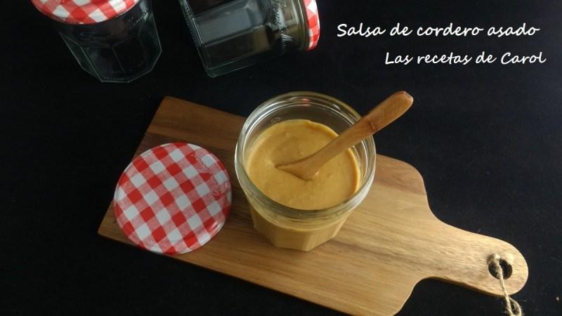 Salsa de cordero lechal asado