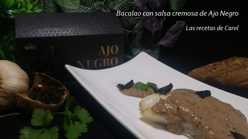 Bacalao con salsa de Ajo Negro