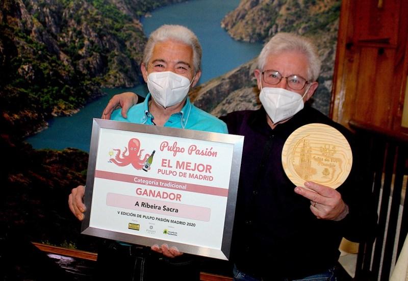 Entrega de premios Pulpo Pasión